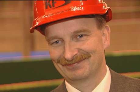 Administrerande direktør Gustav Johan Nydal har grunn til å vera nøgd. Foto Steinar Lote NRK.