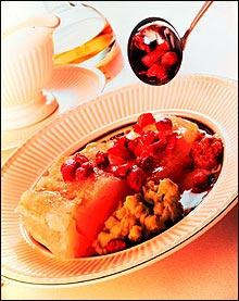 Lutefisk med bacon (Foto: Opplysningskontoret for kjøtt)