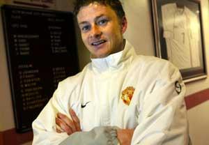 Ole Gunnar Solskjær bidrar med tur til Manchester. (Foto: Tor Richardsen / SCANPIX)