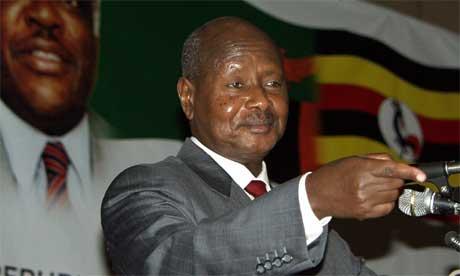 Ugandas president Yoweri Museveni. (Foto: Reuters/Scanpix)