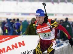 Peter Sendel i aksjon i Holmenkollen i år 2000. (Foto Heiko Junge / SCANPIX)