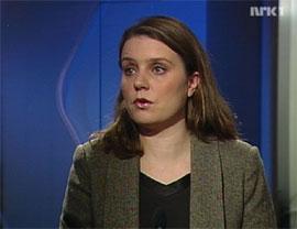 UD: Cathrine Andersen i Utenriksdepartementet (Foto: NRK)