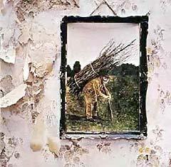 "Led Zeppelin: ""Four Symbols"", plata med tidenes rockelåt ""Staiway to heaven""."