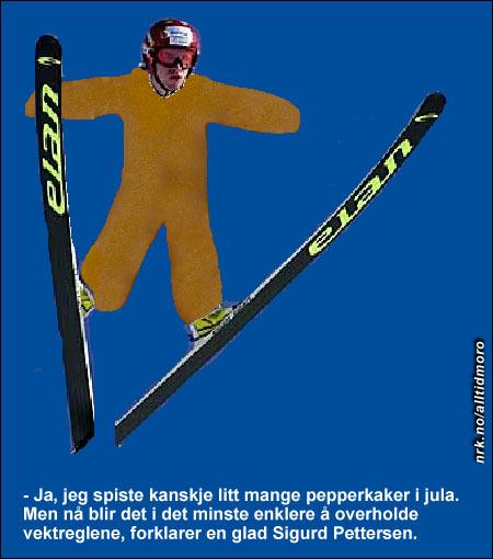 Sigurd kommer nå til å endre navn til Peppersen. (Innsendt av Carina Bringedal)