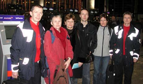 Fra venstre: Sindre Mellesmo, Marianne Mjaaland, Mette Ryan, Runar Østerdahl og Urda Charlotte Neverlien og Jan Erik Haugen, alle fra Sykehuset Buskerud. Foto: Sykehuset Buskerud.