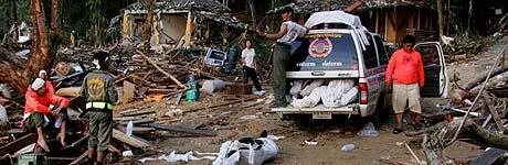 Khao Lak ble hardt rammet i flodbølgekatastrofen. (Foto: Ørn E. Borgen/Scanpix)