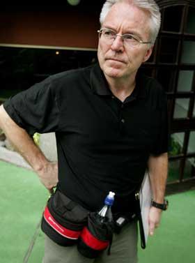 Leder for ettersøkningsteamet, Pål Herlofsen, sier at tapstallene på norske turister vil ligge opp imot tallet på savnede. (Foto: Ørn E. Borgen / Scanpix