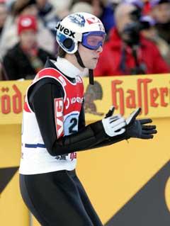 Sigurd Pettersen var fornøyd etter 13. plassen. (Foto: Terje Bendiksby / SCANPIX)