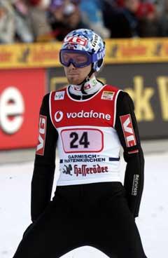 Bjørn Einar Romøren endte på en 29. plass nyttårsrennet og får ikke hoppe i Innsbruck. (Foto: Terje Bendiksby / SCANPIX)
