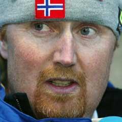 NRKs hoppekspert Jan-Erik Aalbu. (Foto: Erik Johansen / SCANPIX)