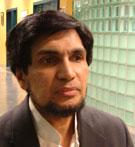 Mubarak Ali, foto: Wenche Lamo Hadland.