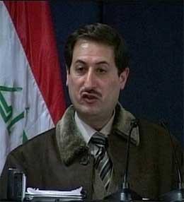 Bagdads guvernør Ali al-Haidri. (Foto: Reuters/Scanpix)