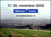 Folks iver etter å kjøpe Telenor-aksjen har vært lav på salgets første dag (Foto: NRK).