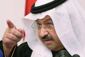 Iraks midlertidige president Ghazi al-Yawar. (Foto: T.al-Sudani)