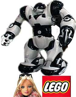 Leker som «Robosapiens» troner over Barbie og Lego
