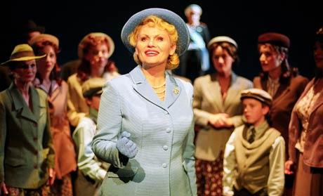 Mia Gundersen som Evita.