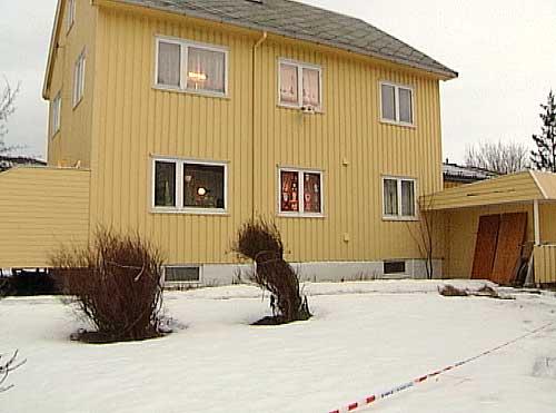 Huset der Mary Ann Hansen ble knivstukket og drept
