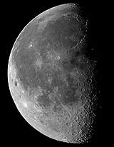 Carstens bilde av Månen (Foto: Carsten Arnholm)