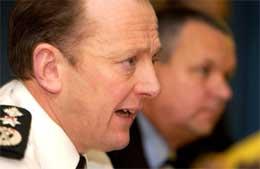 Det var politisjefen i Nord-Irland, Hugh Orde, som framsatte anklagene (Scanpix/AFP)