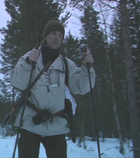 Ulvejeger Knut Nicolaysen. Foto: Geir Olav Slåen