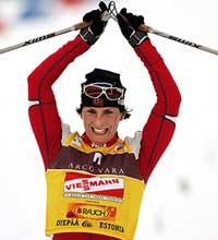 Nok en seier for Marit Bjørgen (Foto: Scanpix/Erlend Aas)