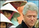 Clinton i Vietnam. (Foto: Scanpix)