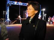 Samferdselsminister Torhild Skogsholm talte ved minnemarkeringen.