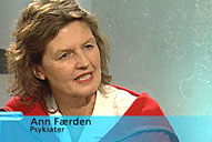 Ann Færden, psykiater og lege, svarer deg på spørsmål om psykisk i helse i kveldens Puls. Du kan møte henne på nettet etter tv-sendingen. Foto: NRK Puls