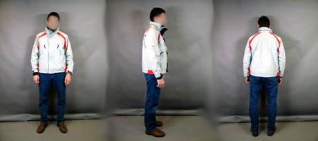 Politiets rekonstruksjon av hvordan den savnede Fred Alexander Svorkmo var kledd da han forsvant 1. nyttårsdag.
