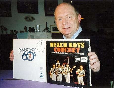 Beach Boys - favorittgruppen for Svenn Martinsen. Foto: Haakon D Blaauw