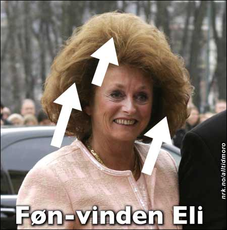Gudrun, Hårek og Inga har fått uvær oppkalt etter seg. Nå er turen kommet til Eli. Alltid Moro)