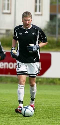 Ivar Rønningen spilte godt i Rosenborg-målet. (Foto: Gorm Kallestad / SCANPIX)