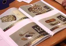 Her er noe av materialet som ble lagt frem i retten. Foto:NRK