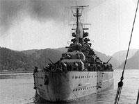 Tirpitz. Foto: U.S. Naval Historical Center Photograph.