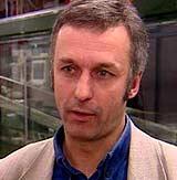 Carl Harbitz er bølgeforsker ved ICG - Senter for Fremragende Forskning (Foto: NRK)