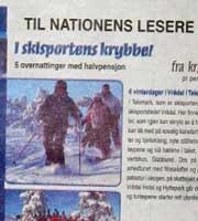 Annonse i Nationen 8. januar 2005. Foto: Anne Cathrine Syversen.