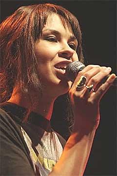 Maria Mena er nominert til tre priser. Foto: Jarl Fr. Erichsen, Scanpix.
