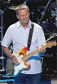 Eric Clapton er bare en av mange store navn som har sagt ja til å spille på Cardiff Millennium Stadium i Wales 22. januar. Foto: Scanpix.