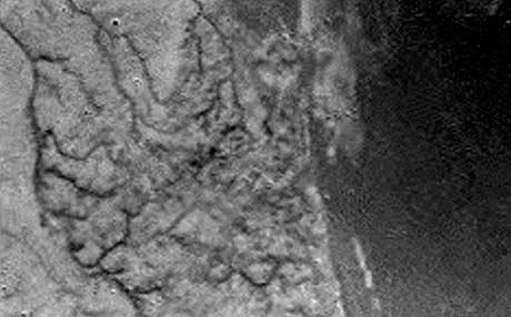 Huygens landing på Titan (Foto: AP/ESA)