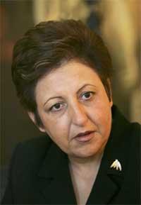 Shirin Ebadi. (Foto: Morten F. Holm/Scanpix)