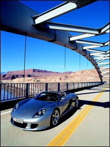Porsche Carrera GT (Foto: Autoindex)