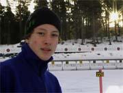 Skiskytter Anders Brun Hennum fra Lier.