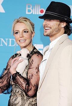 Britney Spears og mannen Federline skal i følge Sky News være på vei til å bli foreldre. Foto: Frazer Harrison, Getty Images / Scanpix.