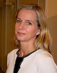 Grete Dyb er barnepsykiater ved Nasjonalt kunnskapssenter om vold og traumatisk stress ved Universitetet i Oslo (Foto: NRK)