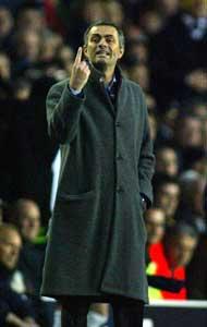Chelsea-manager Jose Mourinho. (Foto: REUTERS / SCANPIX)
