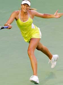 Maria Sjarapova knuste sin konkurrent i Australian Open. (Foto: REUTERS / SCANPIX)