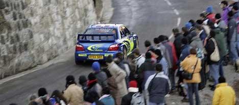 Petter Solberg, Rally Monte Carlo 2005 (Foto:swrt.com)