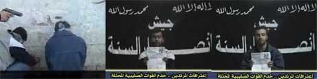 For tre dager siden hevdet Ansar al-Sunna i en video at de hadde drept to irakiske ingeniører som arbeidet for et amerikansk selskap. Nå kan de ha drept ytterligere 15 mennesker (Scanpix/AFP)