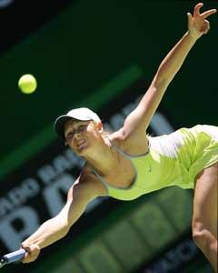 Maria Sjarapova er klar for kvartfinalen i Australian Open. (Foto: AFP / SCANPIX)