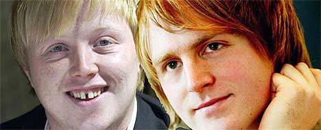 Kurt Nilsen (t.v.) og Askil Holm samarbeider på hverandres soloplater. Foto: Scanpix.